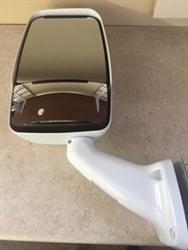 714187 Velvac RV Mirror-Driver Side- Non-Heated Motorized - White